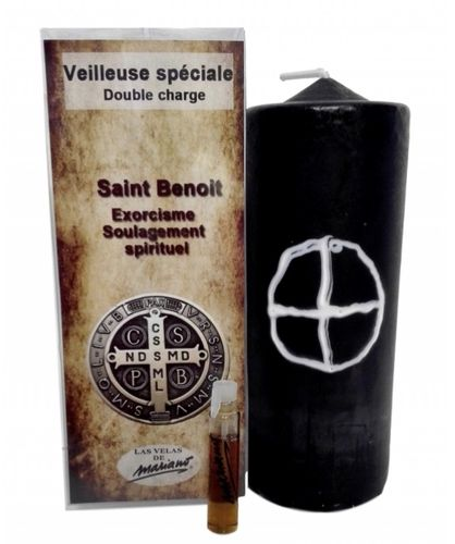 "Bougie ""Double Charge"" SAINT-BENOIT"