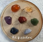Kit pierres 7 chakras